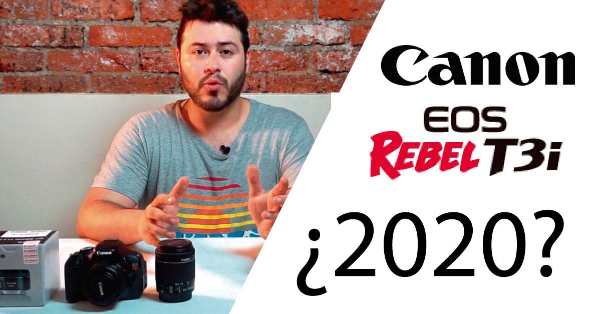 canon t3i usada en 2020